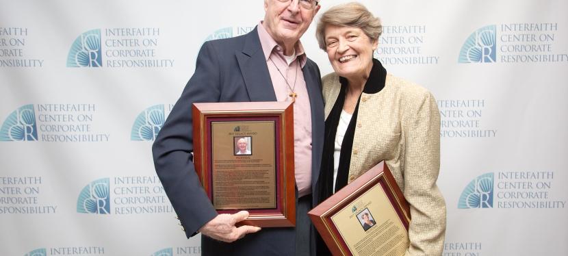 Fr. Mike Crosby receives ICCR LegacyAward