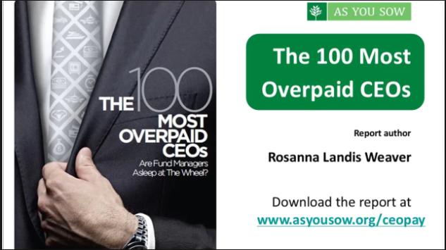Overpaid CEOs