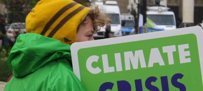 Climate Change is now a ClimateCrisis