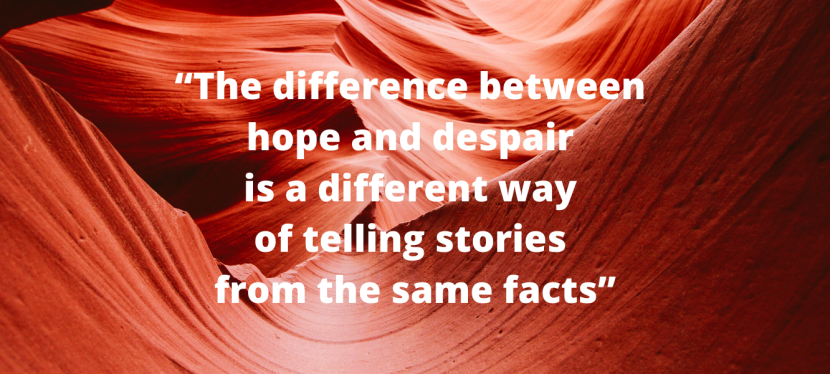 Look Back at 2019: The Difference Between Hope & Despair